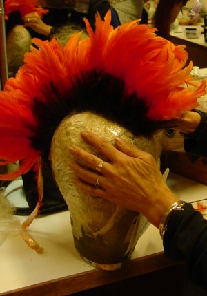 Tilby Pirates Mohecan wig