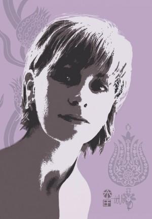 Tilby portrait  of Ali 2002