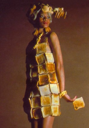 Anne Tilby  hostess toast dress 1979