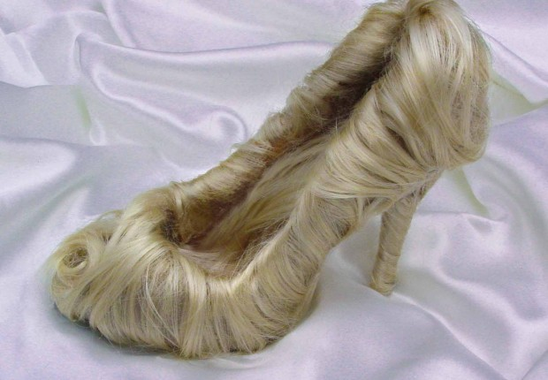 tortured soles / blonde shoe