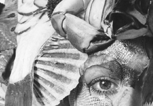 Anne tilby fish close up  1980