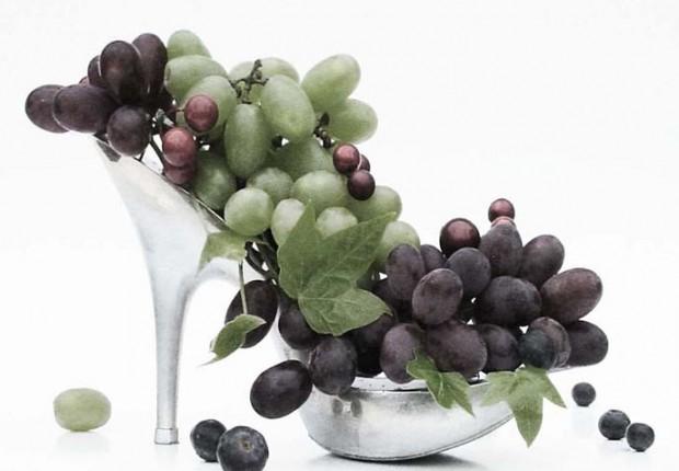 Anne Tilby grape shoe 2