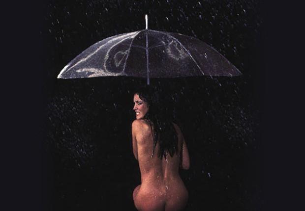 Anne Tilby mesh umbrella