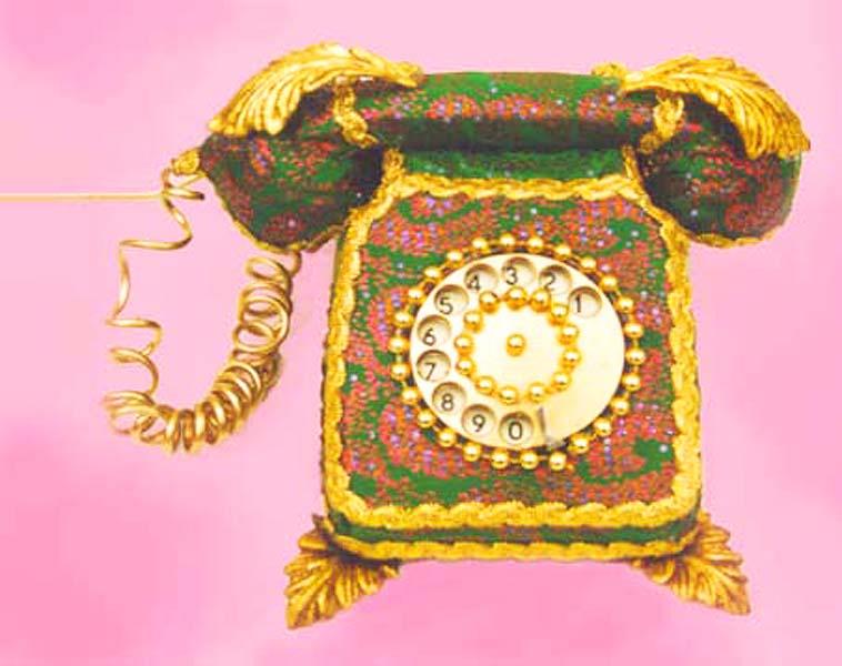 Anne tilby brocade phone