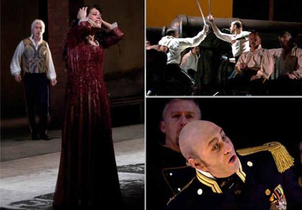 Anne Tilby Il Trovatore  Opera  costume photos x 3