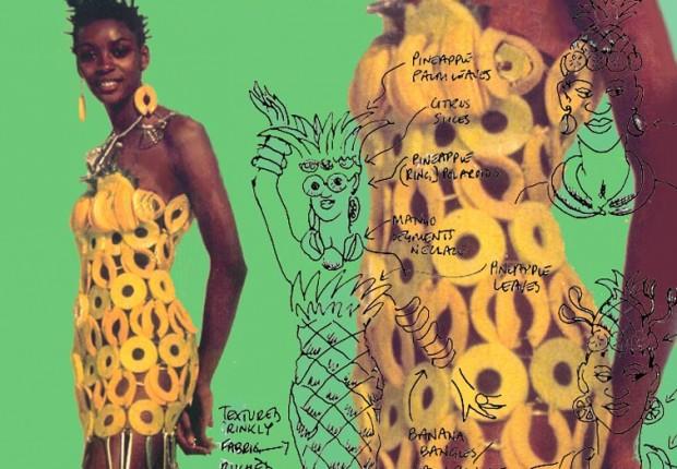 Anne Tilby pret a porter/manger  pineapple