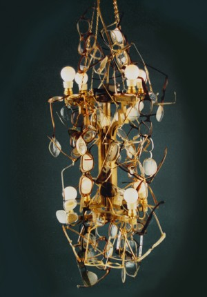tilby spectacles chandelier