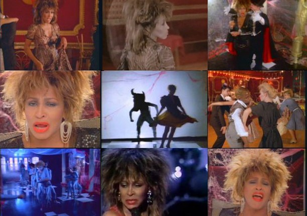 tilby _Tina Turner_ Private Dancer