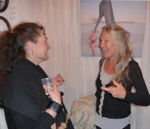 Toni Yardley and Guisepinna de Camerlo
