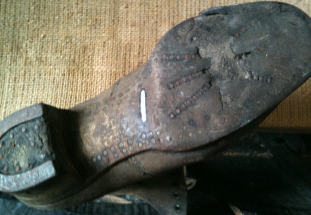 properly worn shoe