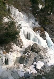 Stelvio frozen falls